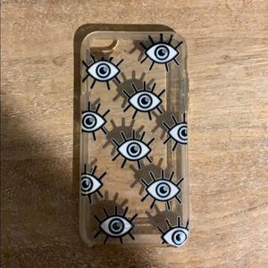 Eye cell phone case